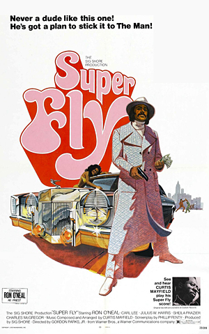Film poster for Superfly