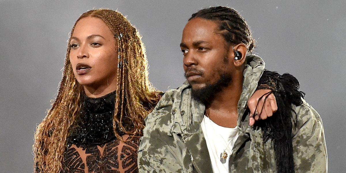 Beyonce and Kendrick Lamar perform 'Freedom' at the 2016 BET Music Awards